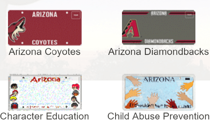 Specialty license plates help Arizonans be generous to the tune of $9.8 million