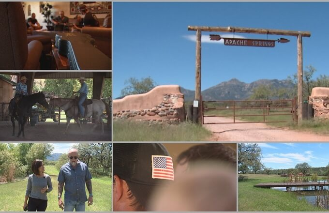 Hope for heroes: New ranch south of Tucson opens new path to healing our heroes