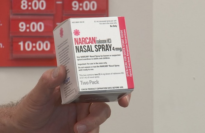 Opioid overdose antidote Narcan now available at CVS without prescription