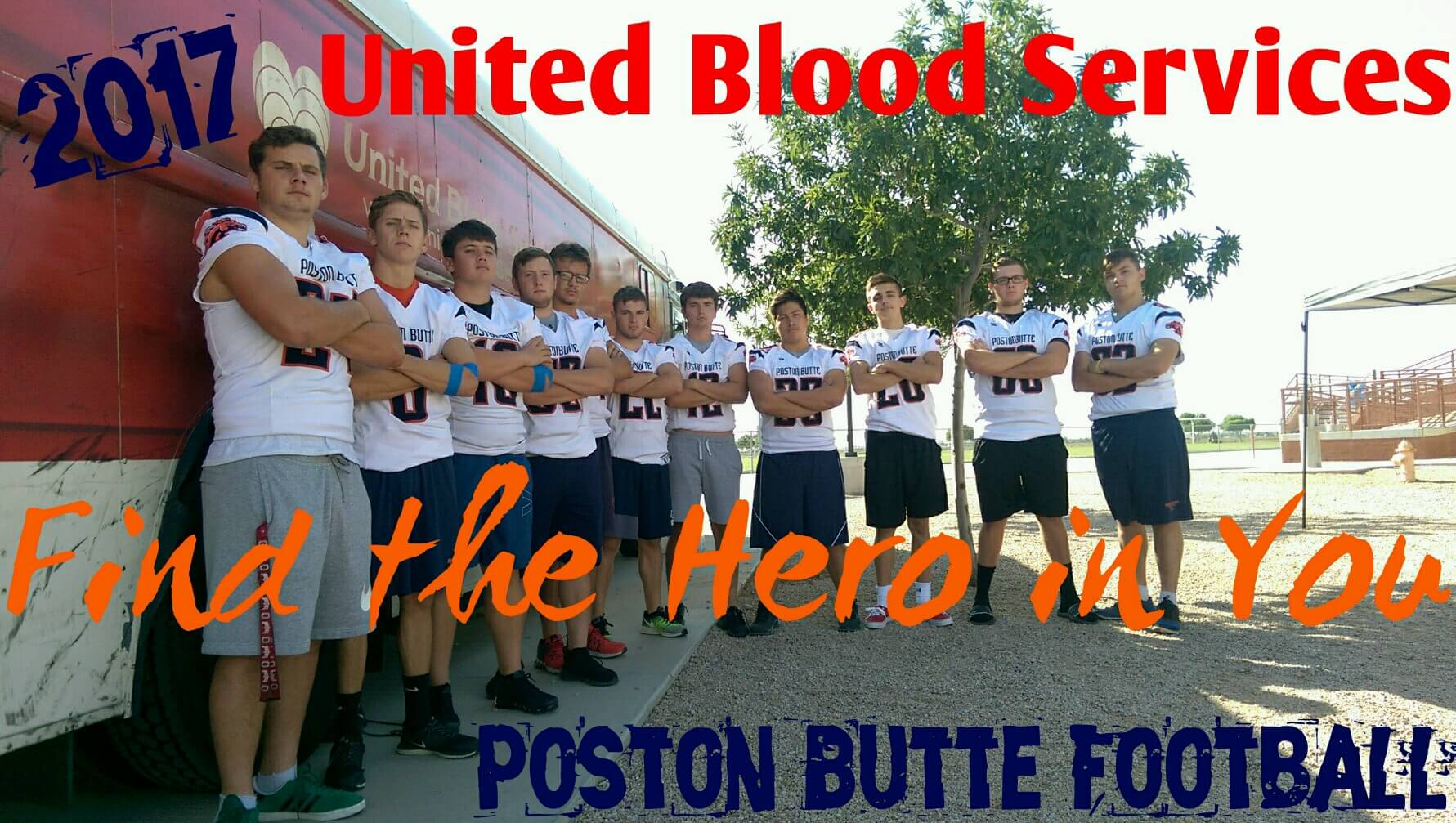 PBHS Football Team Hosts Successful Blood Drive